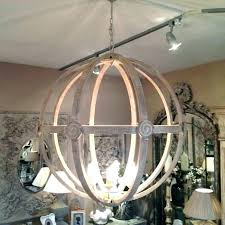 distressed white wood chandelier marvelous french shabby orb antique