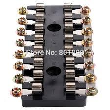 whole dcv tube multiple fuse holder way car auto dc32v tube multiple fuse holder 8 way car auto circuit fuse box holder agc jso waterproof