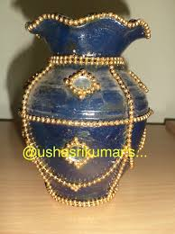 Pot Decoration Designs USHA SRIKUMAR'S MUSINGS A DIFFERENT POT DECORATION pot 13