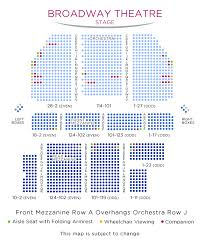 Broadway Theatre Nyc Seating Chart Broadway Theatre Seating Chart King Kong Broadway Tickets