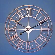 copper kitchen wall clock sevenstonesinc