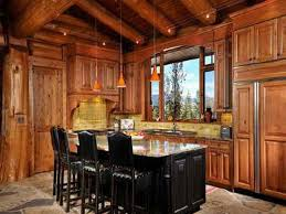 design log cabin kitchen cabinets