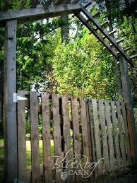 garden gates lowes. Garden Gates Want Another Gate Made From Old Pallet Wood Try This . Lowes