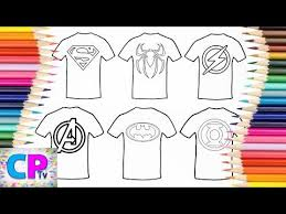 However, once you fail to remove the obstacles in time, or switch to the wrong color when it is eliminated, the game will end. Superman Spiderman Flash The Avengers Batman T Shirt Coloring Pages Tv How To Color Superheroes Youtube Superman And Spiderman Superhero Spiderman
