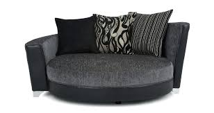 round sofa chair large size of small contemporary living room furniture swivel round sofa chair
