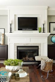 example gas fireplace with no hearth