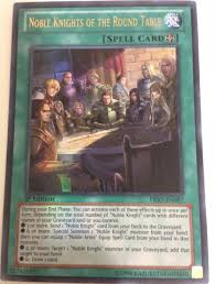 noble knights of the round table prio en087 ultra rare unlimited edition