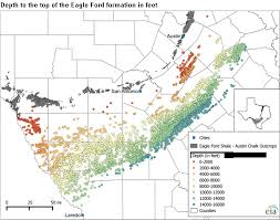 Eagle Ford Production Increasingly Targets Oil Rich Areas