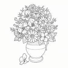 Afbeelding Bloemen Kleurplaat Kleurplaat Vor Kinderen 2019 In