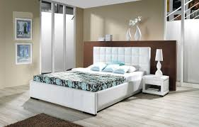 Small White Bedrooms Small White Bedroom Design Beige Soft Fur Carpet White Wooden
