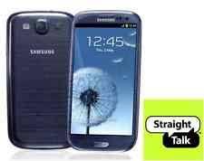 samsung galaxy s3 blue. unlocked samsung galaxy s3 blue 16gb for straight talk - verizon 4g lte speeds! r