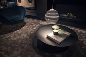 view in gallery minimal and round coffee table