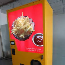 Mcdonalds Vending Machine Japan Awesome This French Fry Vending Machine Is Poised For Global Domination