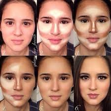 how to slim down your face