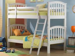 white bunk beds trundle bed joseph white wooden