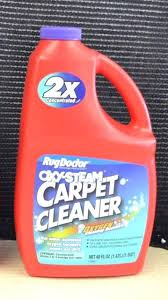 the rug doctor carpet cleaner shampoo new