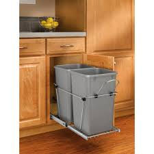 Pull Out Kitchen Storage Cabinet Trash Cans Kitchen Organization Kitchen Storage