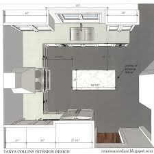 Kitchen Designs U Shaped U Shaped Kitchen With Island Floor Plans Design Awesome 1876