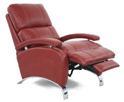 barcalounger oracle ii leather recliner chair