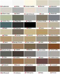 Mapei Color Chart Mapei Colors