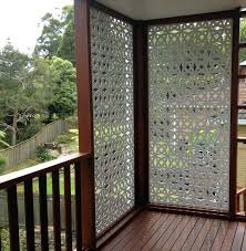 privacy screen for deck pergola contemporary metal patio with gravel outdoor panels portable screens