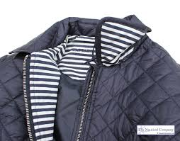 Women's Navy Blue Quilted Jacket, Lightweight - THE NAUTICAL ... & ... Lightweight Women's Nautical Navy Blue Quilted Jacket, ... Adamdwight.com