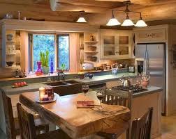 best 25 log cabin kitchens ideas