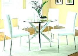 table set plastic glass din round