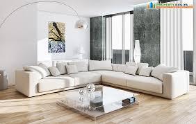 Drawing Room With White Sofas PropertyDuniya Com