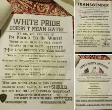anti defamation league kkk fliers in upstate n y troubling adl the loyal white knights of the ku klux klan which included classic klan hateful rhetoric distributed across syracuse and liverpool new york