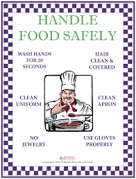 food hygiene poster poster 21 10 steps to serving food food food safety posters oklahoma restaurant association