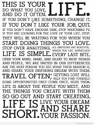 This Is Your Life Quote Awesome This Is Your Life Quote Ryancowan Quotes