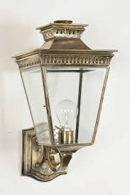 image result for brass or antique brass outdoor wall lights