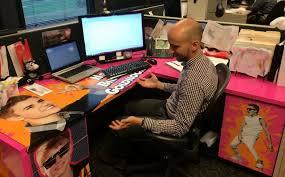 office desk pranks ideas.  ideas justin bieber vinyl desk wrap birthday prank on office pranks ideas
