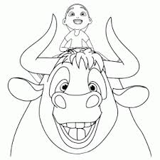 Ferdinand De Stier Kleurplaten Leuk Voor Kids