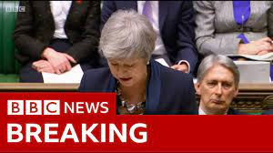 Brexit: May statement on future votes and Article 50 extension - BBC News -  YouTube