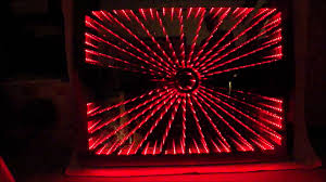 mirror lighting strips. RGB LED Infinity Mirror Stern1 Unendlicher Spiegel, Digital Strip - YouTube Lighting Strips