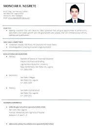 Curriculum Vitae Sample Format Extraordinary Comprehensive Resume With Job Description Sample Structure Format