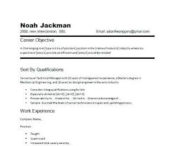 Best Career Objectives Resume Samples. Objectives On A Resume ...