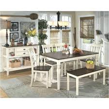 ashley furniture porter collection dining table. full image for d583 25 ashley furniture whitesburg brown cottage white dining room dinette table porter collection