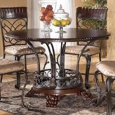ashley furniture kitchen tables: wonderful alyssa round dining room set signature design ashley furniture pertaining to ashley kitchen table and chairs popular
