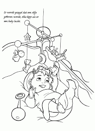 Leuk Voor Kids Een Ooievaar Met Een Babytje Nieuwe Kleurplaat