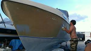 viksund m s 33 jomfru painting the hull kingston grey