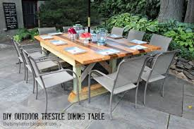 diy outdoor table. A Diy Outdoor Table That Seats 10 Comfortably And We\u0027ve Got The Plans For You! I Desperately Wanted To Build An Was Double Wide (meaning D