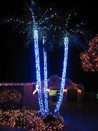 outdoor christmas lights house ideas. Decorating, Extraordinary Exterior Christmas Decoration Feats Palm Tree With Lighting On The Rod: Endearing Lights House Ideas For Special Moment Outdoor