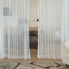 white cotton curtains 84 voile uk