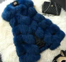 winter women plus size faux fur coat fashion long vest jackets las womens uk