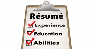 Resume Apply Job Skills Education Experience Checklist 4k Motion