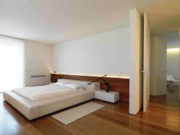 Wooden Flooring Bedroom Minimalist Design