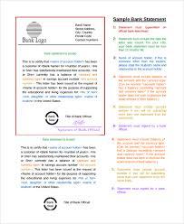 20+ Sample Statements | Sample Templates